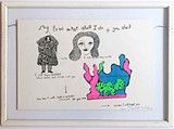 Niki de Saint Phalle, My Love What Shall I Do if You Die?, 1968