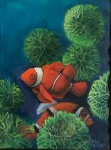Mara Sfara, Howard Goldberg, the Clownfish, 2020