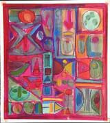 William Fredericksen, Untitled geometric abstraction, 1958-1959