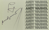 Andy Warhol at Pace/Columbus - Artist Will Be Present, 1978
