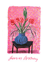 David Hockney, New Color Lithographs (Hand Signed), 1985