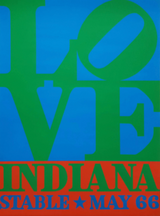 Robert Indiana, LOVE, for historic 1966 Stable Gallery Show (Hand Signed)