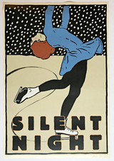 Paula Scher, Silent Night, 1988