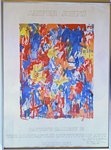 Jasper Johns, Dayton's Gallery 12 - The Minneapolis Institute of Arts Exhibition (hand signed, dated and inscribed by Jasper Johns), 1971-1977