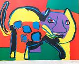 Karel Appel, Cat, 1969
