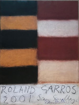 Sean Scully, Roland Garros (Hand Signed), 2001-2016