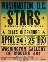 Claes Oldenburg, Stars (Cat. Raisonne Ref: 29, Axsom & Platzker, 1997), 1963