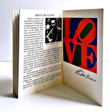 Robert Indiana, The Book of Love Art & Poetry, 1996
