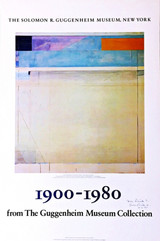 Richard Diebenkorn, Rare Museum Poster, Hand Signed and Inscribed to Dick
