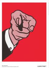 Roy Lichtenstein, LOVE (Red), Museum and Foundation Stamped, Artist Authorized, 2011