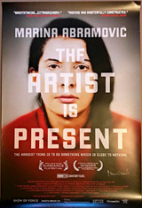 Marina Abramović, The Artist is Present (Hand Signed), 2012