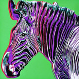 Andy Warhol, Zebra for Art Basel, 1987