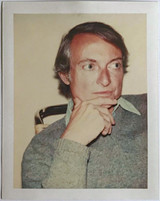 Andy Warhol, Polaroid Photograph of Roy Lichtenstein (Authenticated)