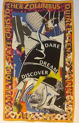 Frank Stella, Dare, Dream, Discover: Limited Edition Scarf, 1992