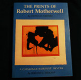 """The Prints of Robert Motherwell"" 1st Edition Catalogue Raisonne hand SIGNED by Robert Motherwell,  from the personal collection of Hilton Kramer"
