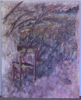 Lynton Wells, Oil on Canvas Painting, 1984, Signed, Copyright with Sable-Castelli Gallery Label
