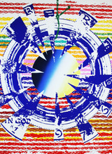 James Rosenquist, Miles (Kennedy Half Dollar), Screenprint with Pochoir,  Hand Signed & Numbered, 1975