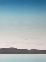 Robert Andrew Parker, Sunrise, Silkscreen, Signed, Numbered, 1975
