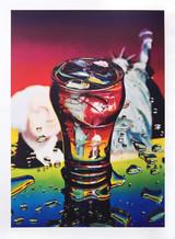 Ben Schonzeit, Yankee Flame, Collotype, 1975