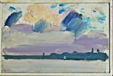 Paul Resika, Painting,  Skowhegan-Wesserunset, 1976