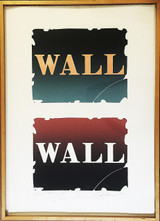 "ROBERT INDIANA, ""Wall: Two Stone IV"", 1 of only 2 Trial Proofs, Signed, Numbered, Dated Annotated, Inscribed and Dedicated with two Unique Signed Drawings on the Verso (Signed twice by Robert Indiana)"