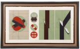 Arnaldo Pomodoro, Mid Century Modern Geometric Abstraction, 1970