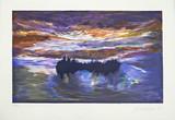 JULES OLITSKI, LUMINOUS DAWN (from Vera List Print Program, Mostly Mozart, Lincoln Center), 1997