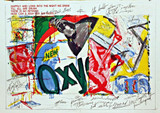 JAMES ROSENQUIST, OXY (from 1 Cent Life Portfolio), 1964