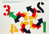 ROBERT INDIANA, FOUR WINDS (from 1 Cent Life), 1964