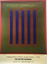 Richard Anuszkiewicz, CELEBRATION OF NEW JERSEY ARTISTS - NOYES MUSEUM POSTER, 1983