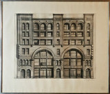 Richard Haas, 484-90 BROOME STREET -First State (Charles Cowles Collection), 1970