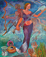 Thelma Appel, Temperance, from the Journey of the Tarot Series, 2009