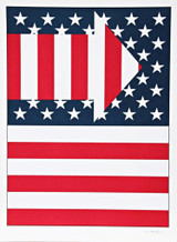 Paul von Ringelheim, AMERICAN FLAG III, 1979