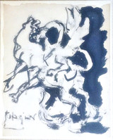 Jacques Lipchitz, STUDY FOR BULL AND CONDOR , 1964