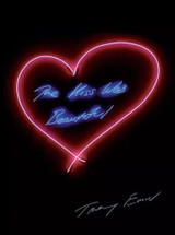 Tracey Emin, THE KISS WAS BEAUTIFUL, 2016
