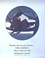 Will Barnet, WOMEN, THE SEA AND SOLITUDE, 1981