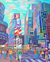 Thelma Appel, TIMES SQUARE V, 2015