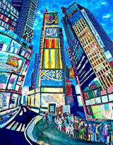 Thelma Appel, Times Square I, 2014