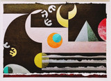 Edna Andrade, MIRAGE, 1988