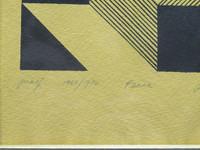 Burton Wasserman, Peace, Dedicated to art writer Eleanor Marko and her husband Ted, 1969-1970
