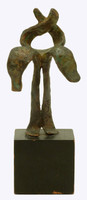 Nathaniel Kaz, Bronze Sculpture to Isaac Bashevis Singer for Arts in Judaism Award, 1966