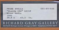 Frank Stella, Shards Variant IVA  (Whitney Museum), 1982