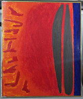 ALAN COTE Sunrise: An Expansion 1981, Acrylic Polymer on Canvas (signed, titled, dated, annotated)