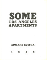 ED RUSCHA Some Los Angeles Apartments (Artist Book, True First Edition) 1965, True First Edition Artist Book: Stated Limited Edition of only 700
