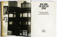 New York: The New Art Scene (HAND SIGNED  by Jim Dine, Larry Poons and Frank Stella) 1967,  Hardback Monograph with illustrated dust jacket.