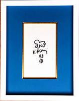 Keith Haring,  Radiant Baby Drawing, 1988