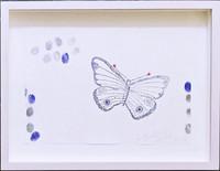 Kiki Smith, Butterfly, 2010, Unique Mixed Media