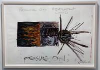 """Robert Longo, """"Pressure"""", 1983"""