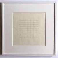 Agnes Martin, On a Clear Day (one plate), 1973