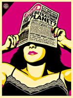 Shepard Fairey, Global Warning - Global Warming (Andy Warhol Edition), 2009